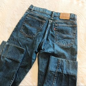 Vintage | Levi's Student High Waisted Mom Jeans